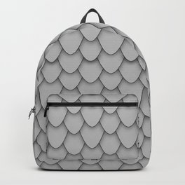 Dragon Scales in Grey Backpack