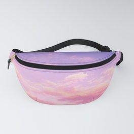 Lavender & Pink Sky Fanny Pack