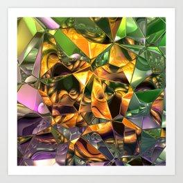 fractal design -74- Art Print