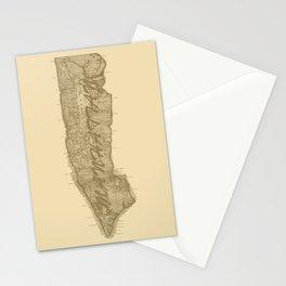 Vintage Manhattan Gold Stationery Cards