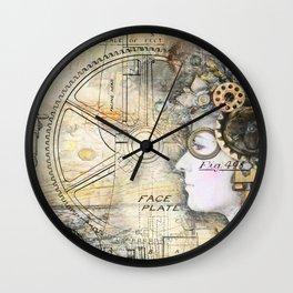 Steampunk Artist Wall Clock