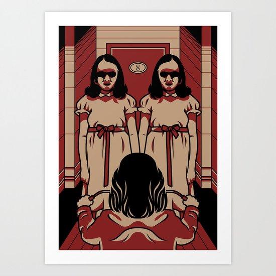 Dark Symmetry Art Print