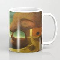 voyage Mugs featuring Voyage by Jiaxi Huang