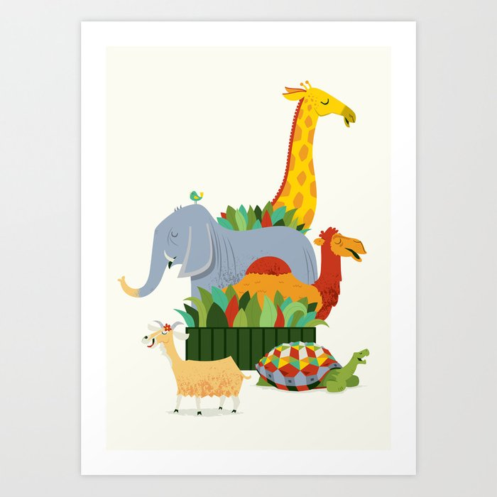 Pet Sounds / Zoo Fun Art Print