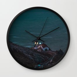 lighthouse point reyes inverness united states Wall Clock