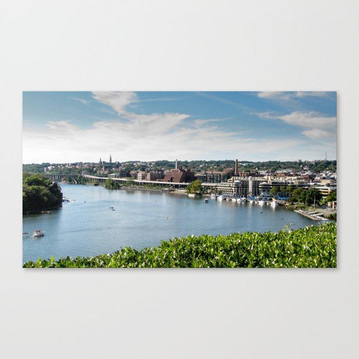 Georgetown visit - Photo Canvas Print
