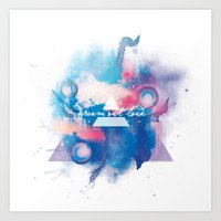 30 seconds to mars Art Prints featuring 30 Seconds to Mars by Rose's Creation