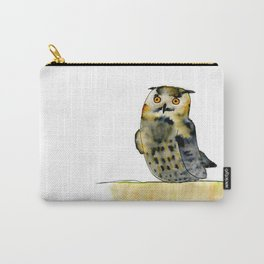 Edward the Eagle Owl Carry-All Pouch