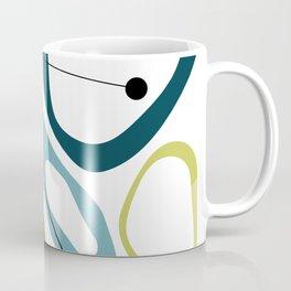 Mid Century Modern Pebbles Coffee Mug