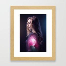 Scarlet Witch Framed Art Print