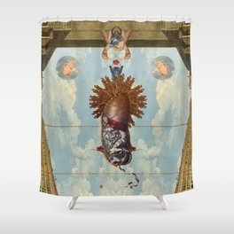 SOL INVICTUS - MITRE - Shower Curtain