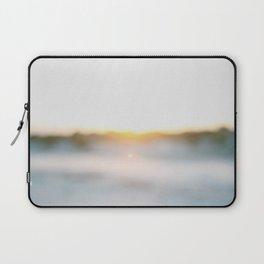 """Dusk at Tybee Island, Georgia"" by Simple Stylings Laptop Sleeve"
