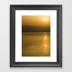 golden brow2 Framed Art Print