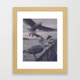 Fish n Chips Framed Art Print