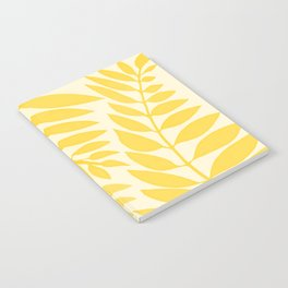 Golden Yellow Leaves Notebook