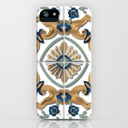 Libyan tiles iPhone Case