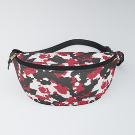 Vampire Blood Modern Camouflage Pattern Fanny Pack