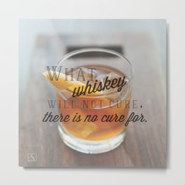 Whiskey  Metal Print