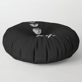 moon phase Floor Pillow