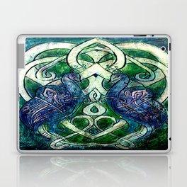 Celtic Peacocks Laptop & iPad Skin
