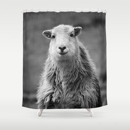 Happy Sheep Shower Curtain