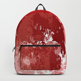 Red Watercolor Backpack