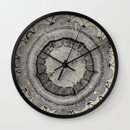 Spruce Branch Wall Clock