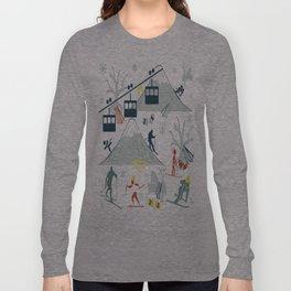 SKI LIFTS Long Sleeve T-shirt