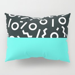 Memphis pattern 48 Pillow Sham