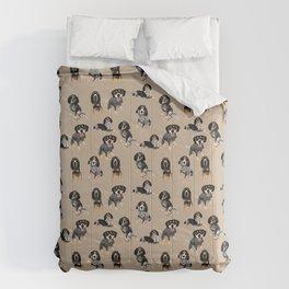 Bluetick Coonhounds  Tan Comforters