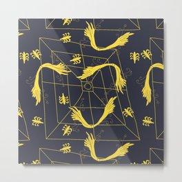 Wing Framed Metal Print