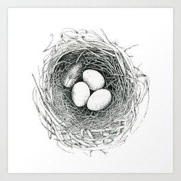 Nest 2 Art Print