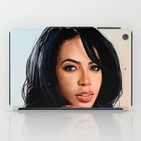 aaliyah iPad Cases featuring Aaliyah #2 by Aaron Jason