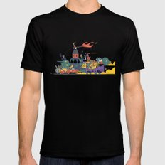 Wacky Max Mens Fitted Tee Black SMALL