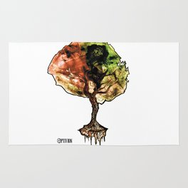 A Tree of Life Rug