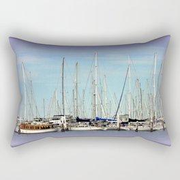 Armada of Yatchs Rectangular Pillow