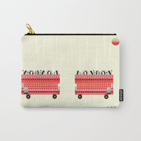 london mini icon  Carry-All Pouch