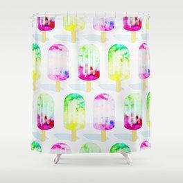 Popsicle Frenzy #society6 #decor #buyart Shower Curtain