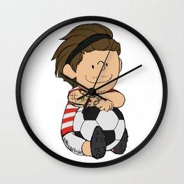 Schulz Footie Lou Wall Clock