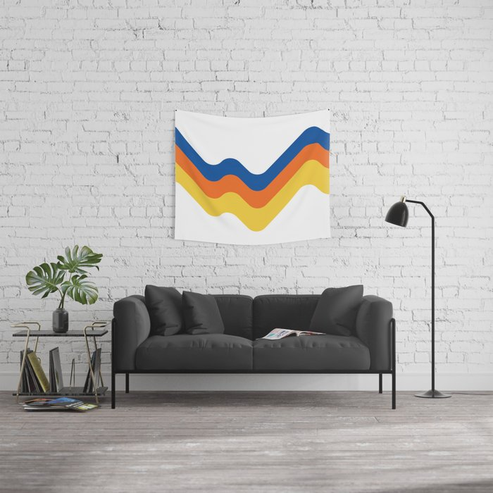 Sound Wave Wall Tapestry