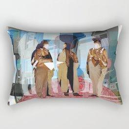 Flieger 2 Collage Rectangular Pillow