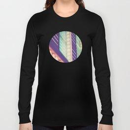 Turquoise Neon Long Sleeve T-shirt
