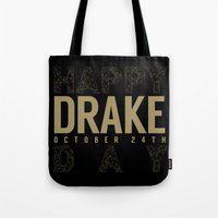 birthday Tote Bags featuring Birthday by October's Very Own