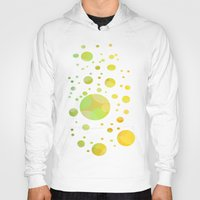bubbles Hoodies featuring Bubbles by DagmarMarina