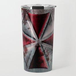 Umbrella with blood Travel Mug
