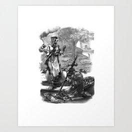 Call to Arms Art Print