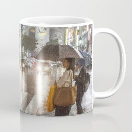 Rain In Shibuya Coffee Mug