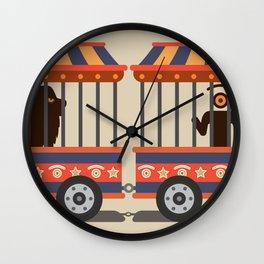circus l.eye.on Wall Clock