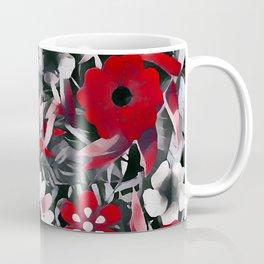 Red Garden Coffee Mug