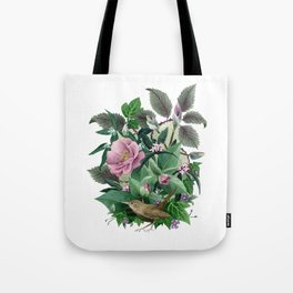 Garden Wren Tote Bag